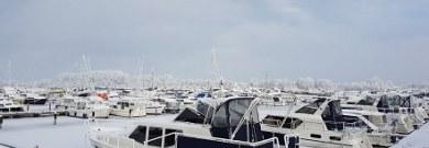 Winterwetter bei Watermerk Yachtcharter